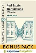 Real Estate Transactions: Ex & Expl 5e Studydesk Bonus Pack
