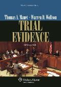 Trial Evidence - With CD (5TH 12 Edition)