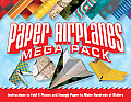 Paper Airplanes Mega Pack: Instructions to Fold Four Planes and Enough Paper to Make Hundreds of Gliders