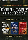 Michael Connelly CD Collection 2: The Concrete Blonde, the Last Coyote, Trunk Music (Harry Bosch) Cover