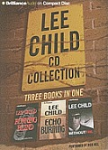 Lee Child CD Collection 2: Running Blind, Echo Burning, Without Fail (Jack Reacher)