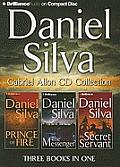 Daniel Silva Gabriel Allon CD Collection: Prince of Fire, the Messenger, the Secret Servant