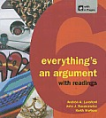 Everything's an Argument : With Readings (6TH 13 Edition)