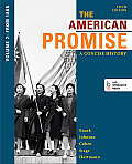 American Promise A Concise History Volume 2 The