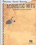 Acoustic Hits Guitar Cheat Sheets