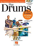Play Drums Today! - Starter Pack: Includes Levels 1 & 2 Book/CDs and a DVD