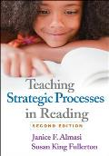 Teaching Strategic Processes In Reading Second Edition