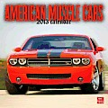 American Muscle Cars 2013 Square 12x12 Wall