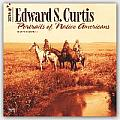 Cal16 Edward S Curtis Portraits of Native Americans Wall 18 Month Calendar 2016