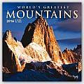 World's Greatest Mountains 2016 Calendar
