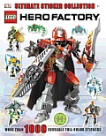 Ultimate Sticker Collection LEGO Hero Factory