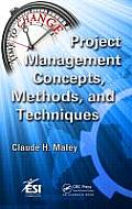 ESI International Project Management #9: Project Management Concepts, Methods, and Techniques Cover