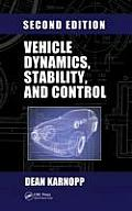 Vehicle Dynamics, Stability and Control (2ND 13 Edition)