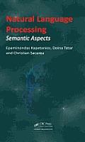 Natural Language Processing: Semantic Aspects