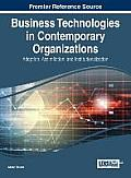 Business Technologies in Contemporary Organizations: Adoption, Assimilation, and Institutionalization