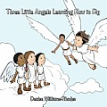 Three Little Angels Learning How to Fly