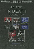 J. D. Robb in Death Collection 2: Vengeance in Death, Holiday in Death, Conspiracy in Death, Loyalty in Death, Witness in Death