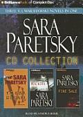 Sara Paretsky CD Collection: Total Recall, Blacklist, Fire Sale