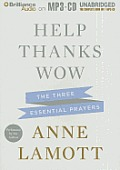 Help, Thanks, Wow: The Three Essential Prayers Cover