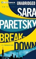 V.I. Warshawski Novels #15: Breakdown Cover