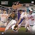 2013 Baltimore Orioles 12x12 Wall