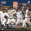 2013 Detroit Tigers 12x12 Wall