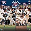 2013 Minnesota Twins 12x12 Wall