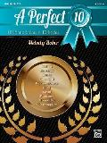 A Perfect 10, Bk 4: 10 Piano Solos in 10 Styles (Perfect 10)