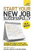 Start Your New Job Successfully A...