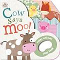Cow Says Moo!: Noisy Animal Playbook