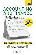 Accounting & Finance In 4 Weeks A Teach Yourself Guide