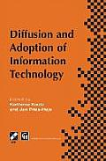Diffusion and Adoption of Information Technology: Proceedings of the First Ifip Wg 8.6 Working Conference on the Diffusion and Adoption of Information