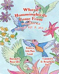 Where Hummingbirds Come from Bilingual English Hindi Cover