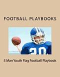 5 Man Youth Flag Football Playbook