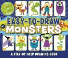 Easy-To-Draw Monsters: A Step-By-Step Drawing Book (You Can Draw)