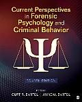 Current Perspectives In Forensic Psychology & Criminal Behavior