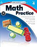 Math Practice, Grade 4 (Kelley Wingate)