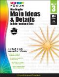Spectrum Reading for Main Ideas and Details in Informational Text, Grade 3