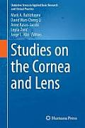 Studies on the Cornea and Lens (Oxidative Stress in Applied Basic Research and Clinical Prac)