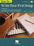 How to Write Your First Song:...