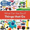 Things That Go (What Can You Spot?)