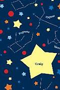Etchbooks Craig, Constellation, Wide Rule