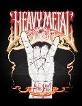 Heavy Metal Fun Time Activity Book Cover