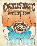 Country Music Fun Time Activity Book Cover
