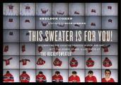 """This Sweater Is for You!: Celebrating the Creative Process in Film and Art with the Animator and Illustrator of """"The Hockey Sweater"""""""