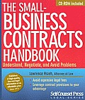 The Small-Business Contracts Handbook [With CDROM]