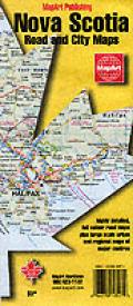 Nova Scotia Road & City Map