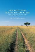 "Africa: Missing Voices                                                                              "" #4: New Directions in African Education: Challenges and Possibilities Cover"