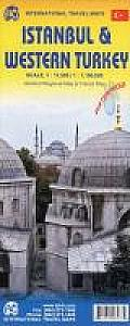 Istanbul & Western Turkey Travel Reference Map (Wp): 1:11,000/1:1 100,000