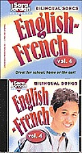 Bilingual Songs English French Volume 4 Book